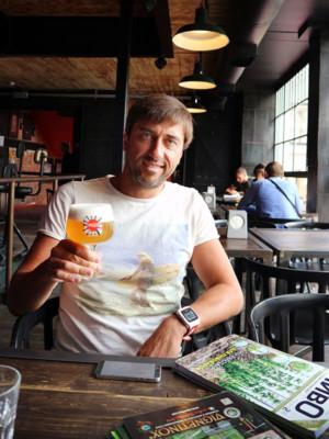 Юрий Заставный, пиво, Львов