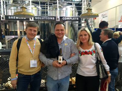 Drinktec 2017, Varvar Brewery, First Dnipro Brewery