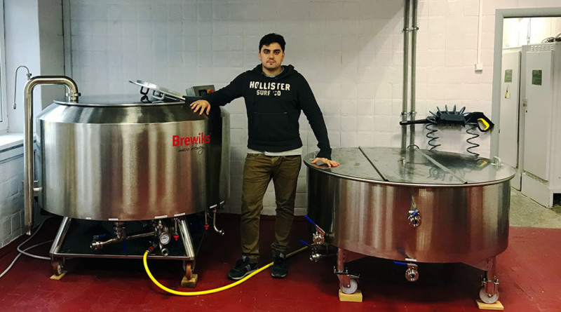 Brewiks, Underwood Brewery, пивоварня, оборудование