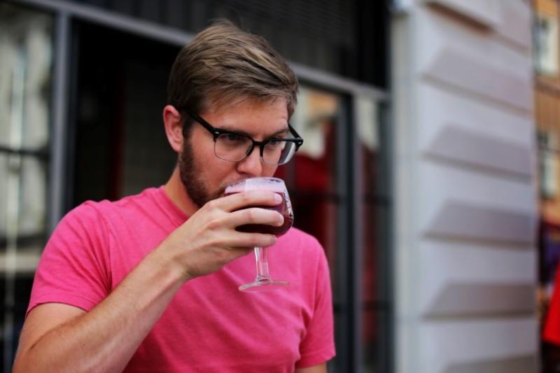 Корі МакГіннес, пивовар, Театр пива Правда, інтер`ю, сексизм, пивні етикетки, пивоваріння в Україні