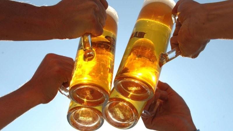 продажи пива, Германия, статистика