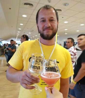 Богдан Точка, Mova, крафтовое пиво, фестиваль пива, Днепр, Craft Культура