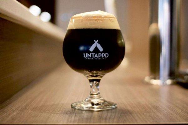 Guinness Draught, Untappd, рейтинг Untappd, популярное пиво Untappd, самое популярное пиво 2019 года