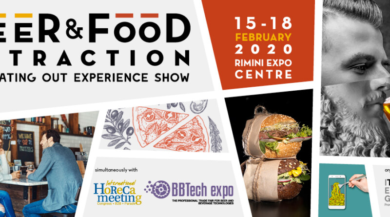 BEER&FOOD ATTRACTION, BBTECH EXPO – 2020, выставка пивоварение Римини, выставка Италия, пиво Италии