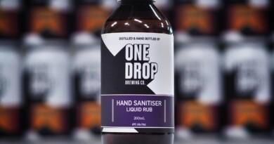 пивоварня виготовляє санітайзери, Microbrewery One Drop, Австралія