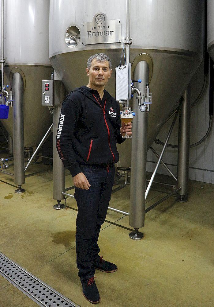 Микола ІВАЩИШИН, директор пивоварні «ВОЛИНСЬКИЙ БРОВАР»