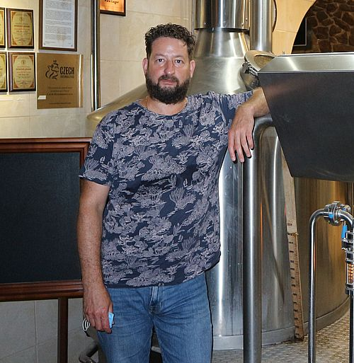 Пршемисл БРОЖ, головний пивовар пивної ресторації «КАНТ»