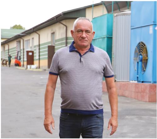 Маріан ГОДА, директор пивзаводу «Рівень»