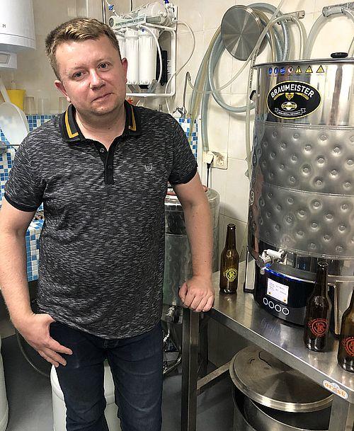 Олександр СТЕПАНЕЦЬ, власник пивоварні John Barleycorn