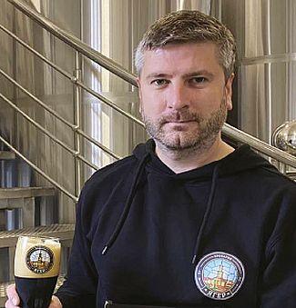 Іван САВЧЕНКО, пивовар пивоварні «Ягер»