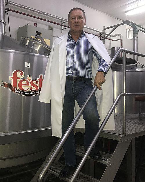 Володимир УРСУЛ, директор ТОВ «Ізмаїльська пивоварня»